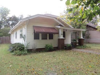 Chickasha OK Single Family Home For Sale: $87,900