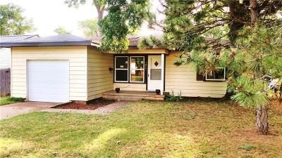 Chickasha OK Single Family Home For Sale: $92,500