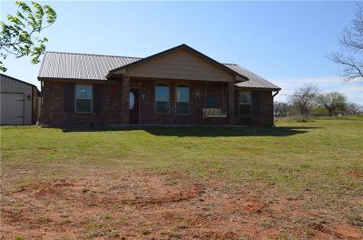 Blanchard OK Single Family Home For Sale: $158,900