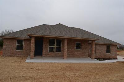 Blanchard OK Single Family Home For Sale: $169,900