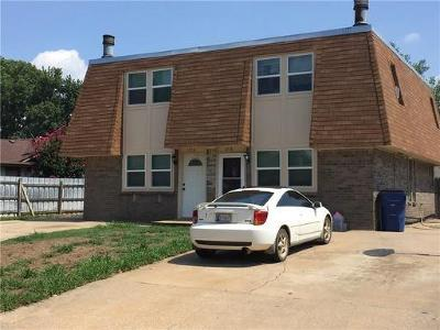 Mustang Multi Family Home For Sale: 1236 W Huntington