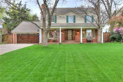 Nichols Hills Single Family Home For Sale: 1105 Huntington Avenue