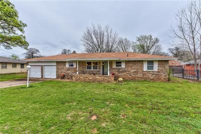 Spencer Single Family Home For Sale: 4812 Woodland Park Terr