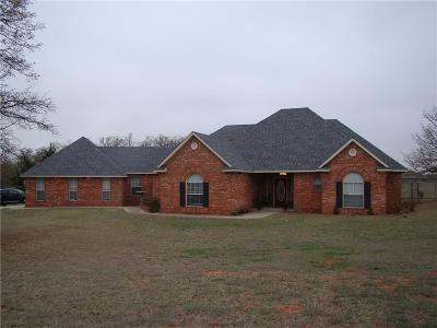 Blanchard OK Single Family Home For Sale: $244,900