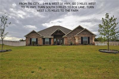 Blanchard OK Single Family Home For Sale: $285,000