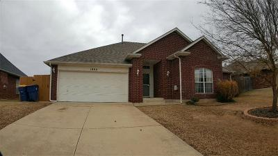 Choctaw Single Family Home For Sale: 1804 Cherokee Trail