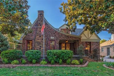 Oklahoma City OK Single Family Home For Sale: $650,000
