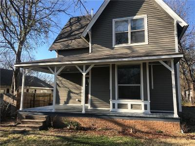Guthrie Single Family Home For Sale: 510 E Springer