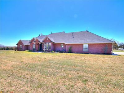 Mustang Single Family Home For Sale: 1810 E Dowden Lane