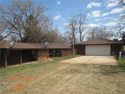 Geary OK Single Family Home For Sale: $122,000