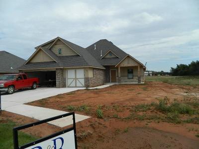 Mustang Single Family Home For Sale: 4612 McCann