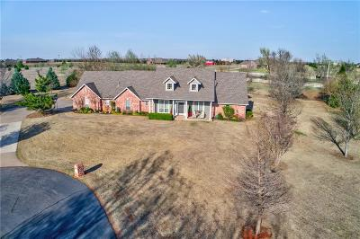 Edmond Single Family Home For Sale: 7900 Prairie View Road