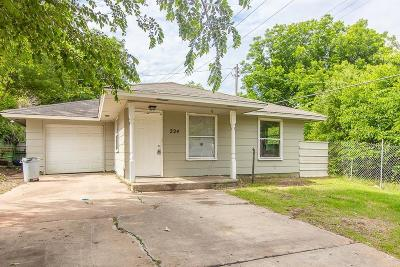 Oklahoma City Single Family Home For Sale: 224 SW 39th Street