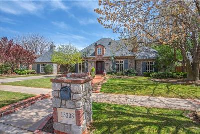 Edmond Single Family Home For Sale: 15308 Burning Spring Road