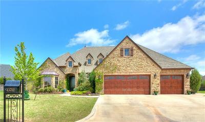 Edmond Single Family Home For Sale: 15712 Laguna