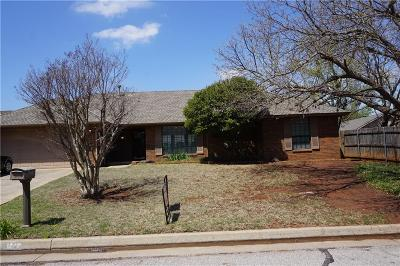Oklahoma City Single Family Home For Sale: 5201 NW 110th Street