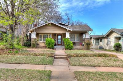 Oklahoma City Single Family Home For Sale: 217 NW 21st Street