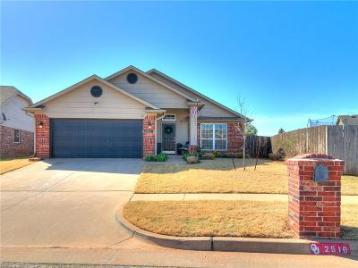 Edmond Single Family Home For Sale: 2516 NW 181st Street