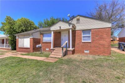 Oklahoma City Single Family Home For Sale: 1637 SW 39th Street