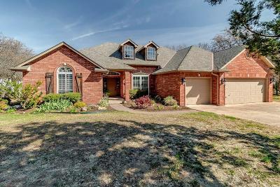 Edmond Single Family Home For Sale: 9651 Skyridge Drive