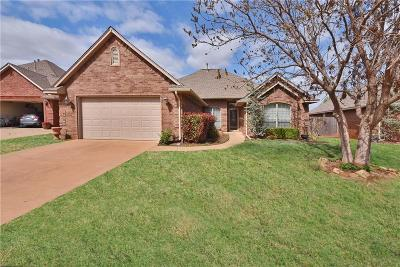 Edmond Single Family Home For Sale: 4809 NW 161st Terrace