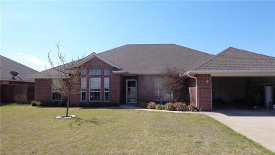 Altus Single Family Home For Sale: 504 Peacock Circle