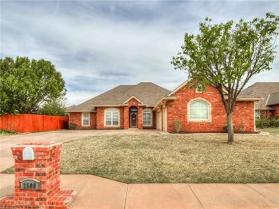 Edmond Single Family Home For Sale: 2509 NW 154th Street