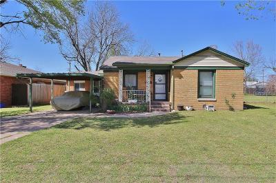 Oklahoma City Single Family Home For Sale: 1411 SW 52nd