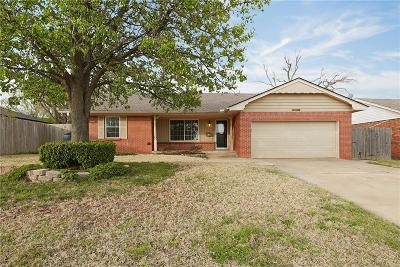 Oklahoma City Single Family Home For Sale: 3732 NW 62nd Street