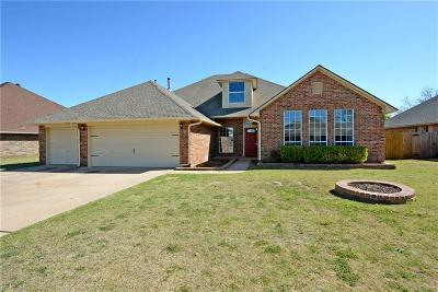 Edmond Single Family Home For Sale: 14016 Choctaw Drive