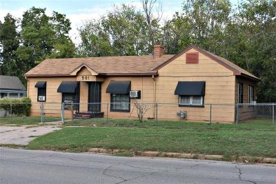 Chickasha Single Family Home For Sale: 501 S 7th Street