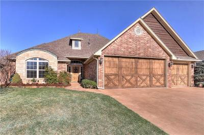 Lincoln County, Oklahoma County Single Family Home For Sale: 16224 Dustin Lane