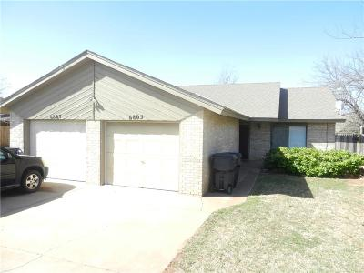 Oklahoma County Multi Family Home For Sale: 6805 Woodlake