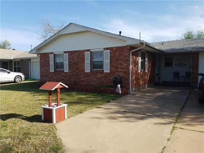 Oklahoma City OK Single Family Home For Sale: $94,900