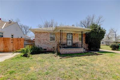 Oklahoma City OK Single Family Home For Sale: $85,000