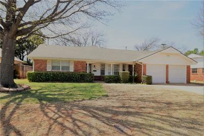 Oklahoma City Single Family Home For Sale: 6809 Reed Drive