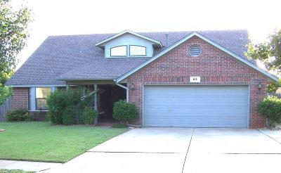 Edmond Single Family Home For Sale: 813 Millies Trail