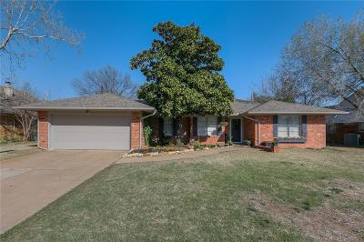 Edmond Single Family Home For Sale: 3608 Jim Robison Dr Edmond