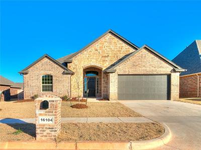 Edmond Single Family Home For Sale: 16104 Positano Drive