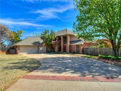 Edmond Single Family Home For Sale: 1708 Chickasha