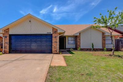 Oklahoma City Single Family Home For Sale: 3809 Windscape Court