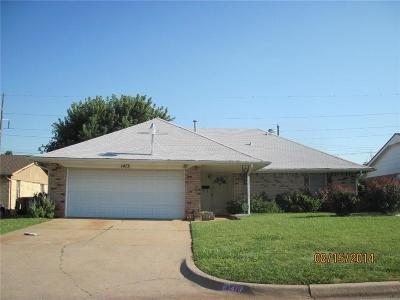 Oklahoma City Single Family Home For Sale: 1413 NW 107th