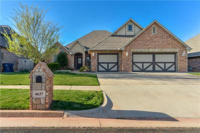 Edmond Single Family Home For Sale: 4637 NW 159th Street