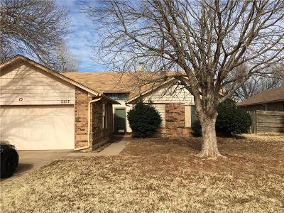 Edmond Single Family Home For Sale: 2117 Gebron