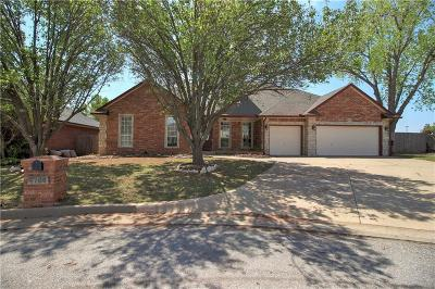 Oklahoma City Single Family Home For Sale: 6720 NW 121st Street