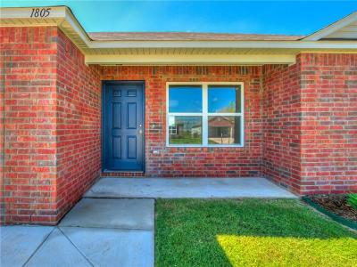 Yukon Single Family Home For Sale: 9813 High Noon Road