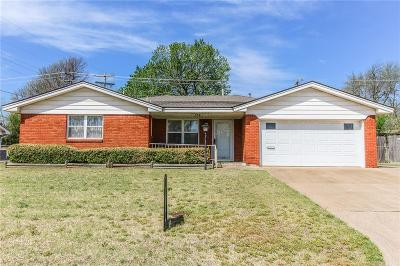 Midwest City Single Family Home For Sale: 109 Country Club Terrace