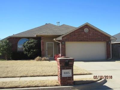Oklahoma City OK Single Family Home For Sale: $164,900
