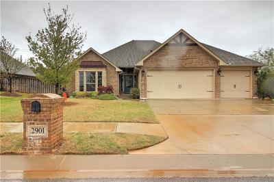Edmond Single Family Home For Sale: 2901 Saint Fergus Drive