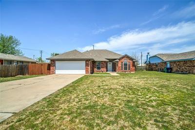Oklahoma City OK Single Family Home For Sale: $143,000